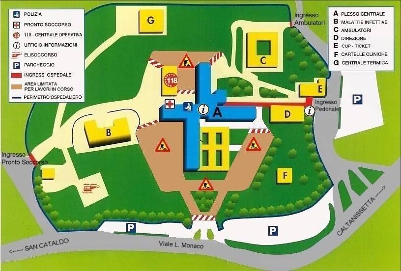 Pianta Ospedale S.Eleia