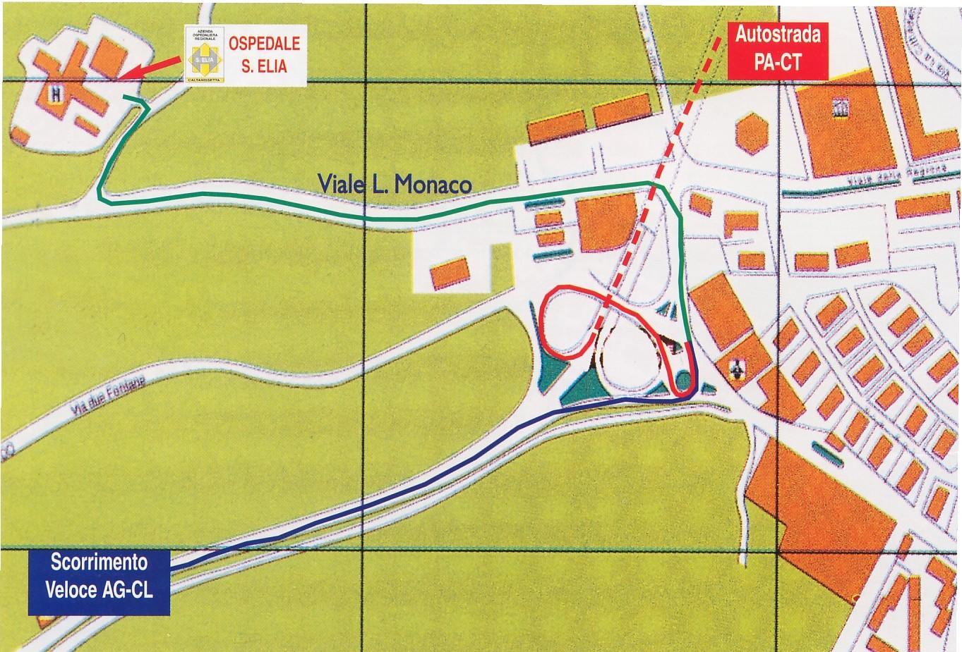 Cartina S.Elia